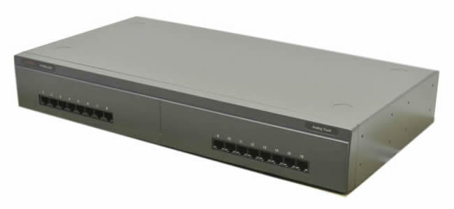 Avaya IP500 Analog Trunk 16 Module - 16 analog telephone lines