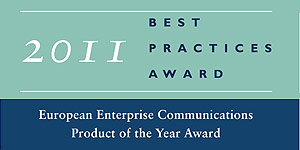 Frost & Sullivan European Enterprise Product of the Year Award