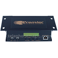 Premier 7100 Hybrid LAN/Internet music on hold message player
