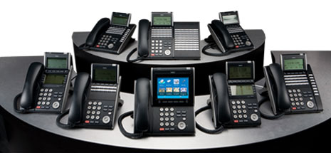 nec univerge SV8100 ip phone systems digital phones voip telephones