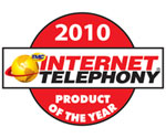 NEC Univerge SV8100 Internet Telephony Product of the Year award