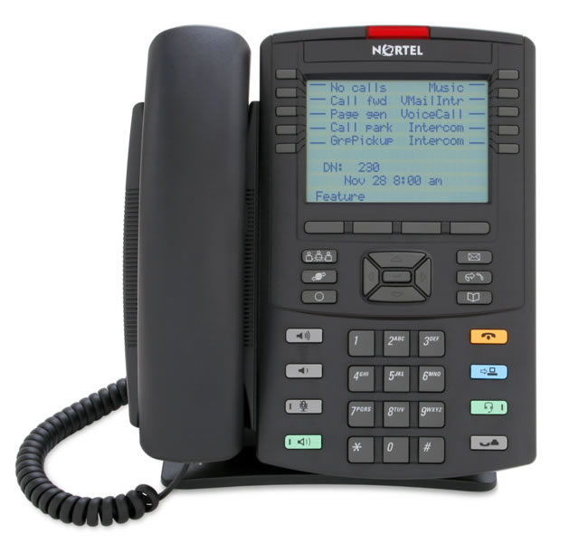 Nortel IP phones VoIP telephones