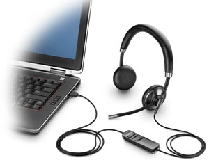 Blackwire C725 USB phone headset