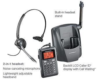 CT14 Wireless Phone Headset System description