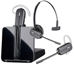 Plantronics CS540-XD wireless phone headset