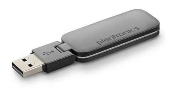 Plantronics D100-M DECT USB headset adapter Microsoft Lync and Microsoft OCS version