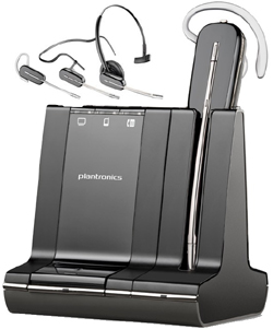 W740-M Plantronics wireless phone headset Microsoft version optimized for Microsoft Lync and Microsoft OCS 2007