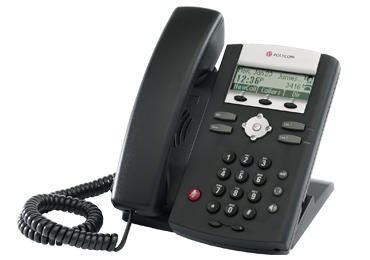 Polycom IP phone SoundPoint IP 321 desktop SIP telephone