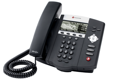 Polycom IP phone SoundPoint IP 450 desktop SIP telephone