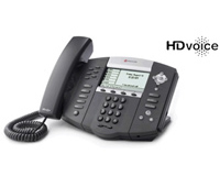 SoundPoint IP 650 SIP phone desktop telephone