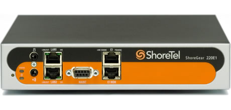Shoretel Voice Switch 220E1 Digital Trunking