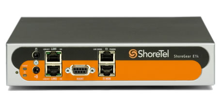 ShoreTel Voice Switch E1k Digital Trunking