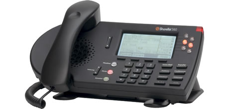 ShoreTel 560G IP phone black color 560 voip telephone