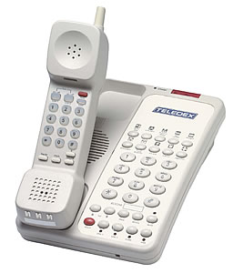 Teledex Opal Cordless Room Phone