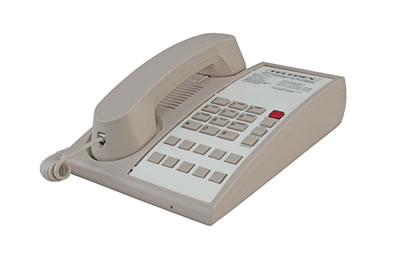Teledex D Series Corded Analog Hotel Phone