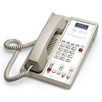 Teledex Diamond +S 3-Button Hotel Phone