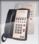 TeleMatrix 2800mwd Marquis hotel phone room telephone