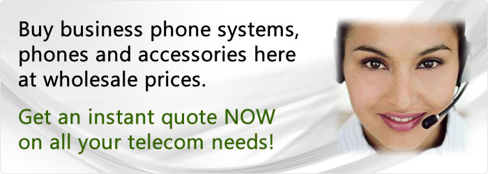 Buy business phone systems and phones at wholesale prices.